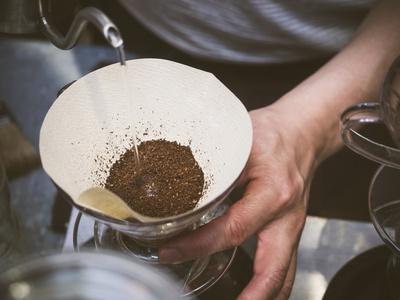 Filterkaffee Pour Over Methode