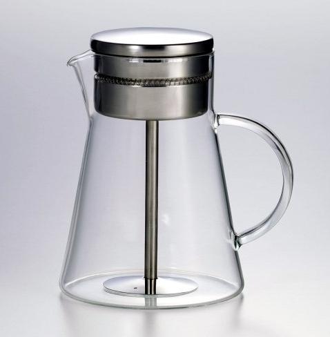 Der Perkolator – je länger der Kaffee zirkuliert, desto stärker wird er