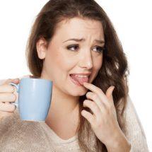Kaffee hat Beigeschmack