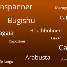 Kaffee FAQ Glossar ABC – alle Begriffe rund um das schwarze Getränk