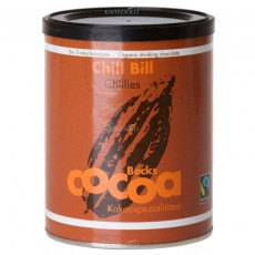 Becks COCOA BIO Trinkschokolade Chill Bill Chillies 250g