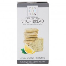 Biscottea Shortbread Earl Grey Tea 160g